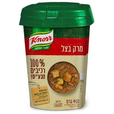 מרק בצל 100% רכיבים טבעיים קנור קופסה 400 גרם -