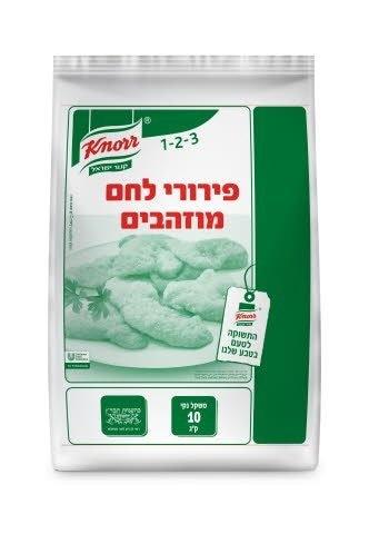 """פירורי לחם מוזהבים קנור שקית 10 ק""""ג -"""